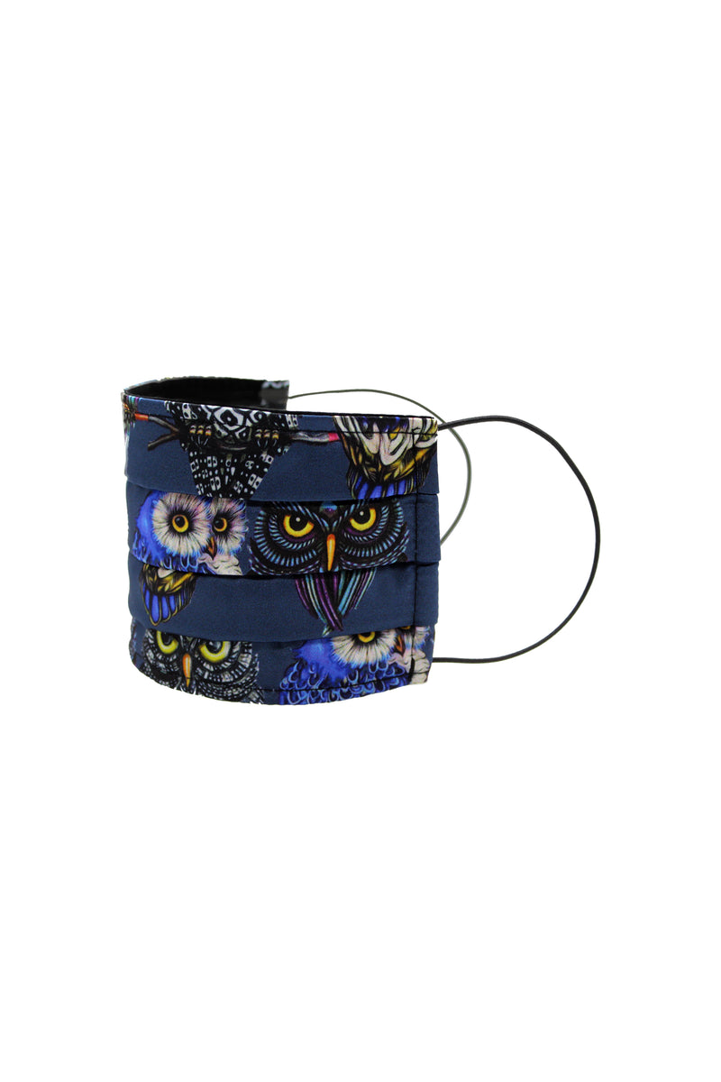 Mask in Owl print