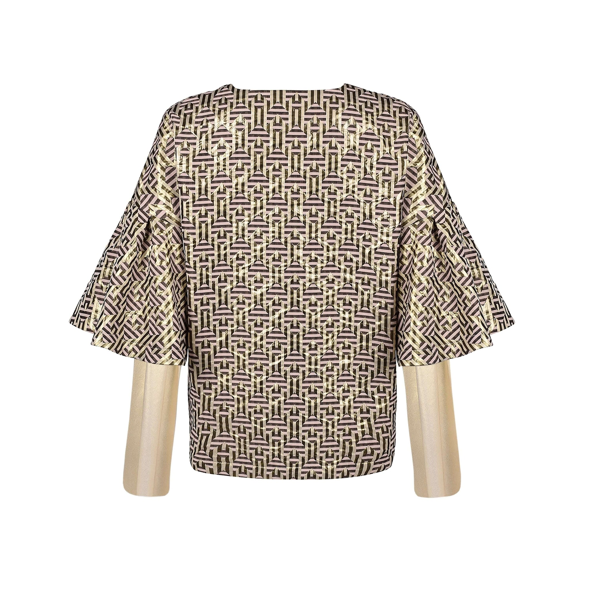 Baume sweater in spades fabric