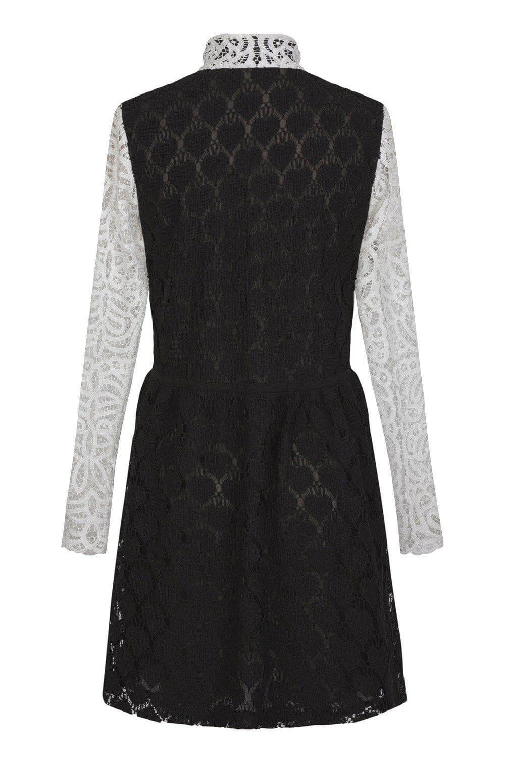 Edison dress in arabesque lace