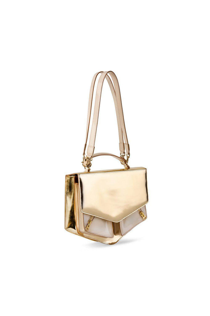 Eiffel bag in champagne leather