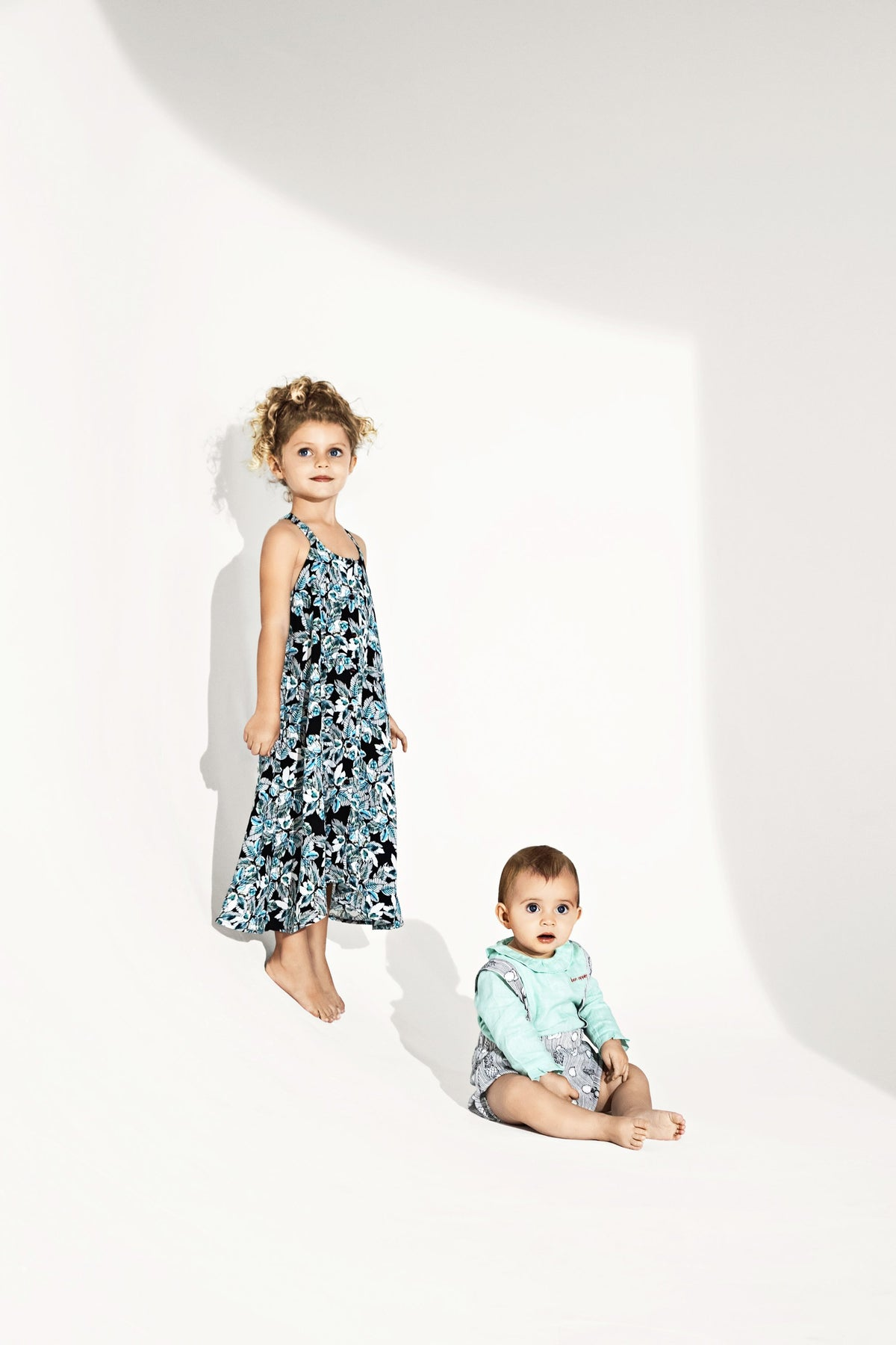 Heimstone x Catimini - Java dress in floral print