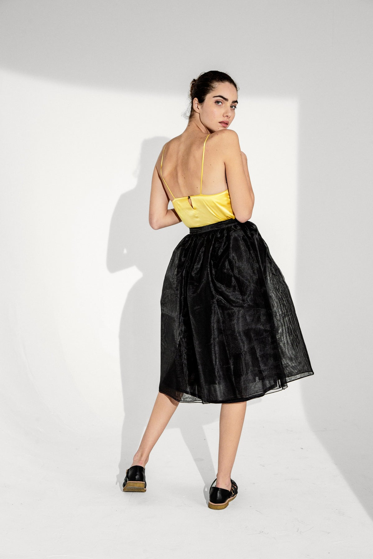 Orso skirt in black organza