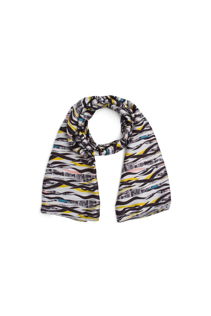 Scarf carré in roots print