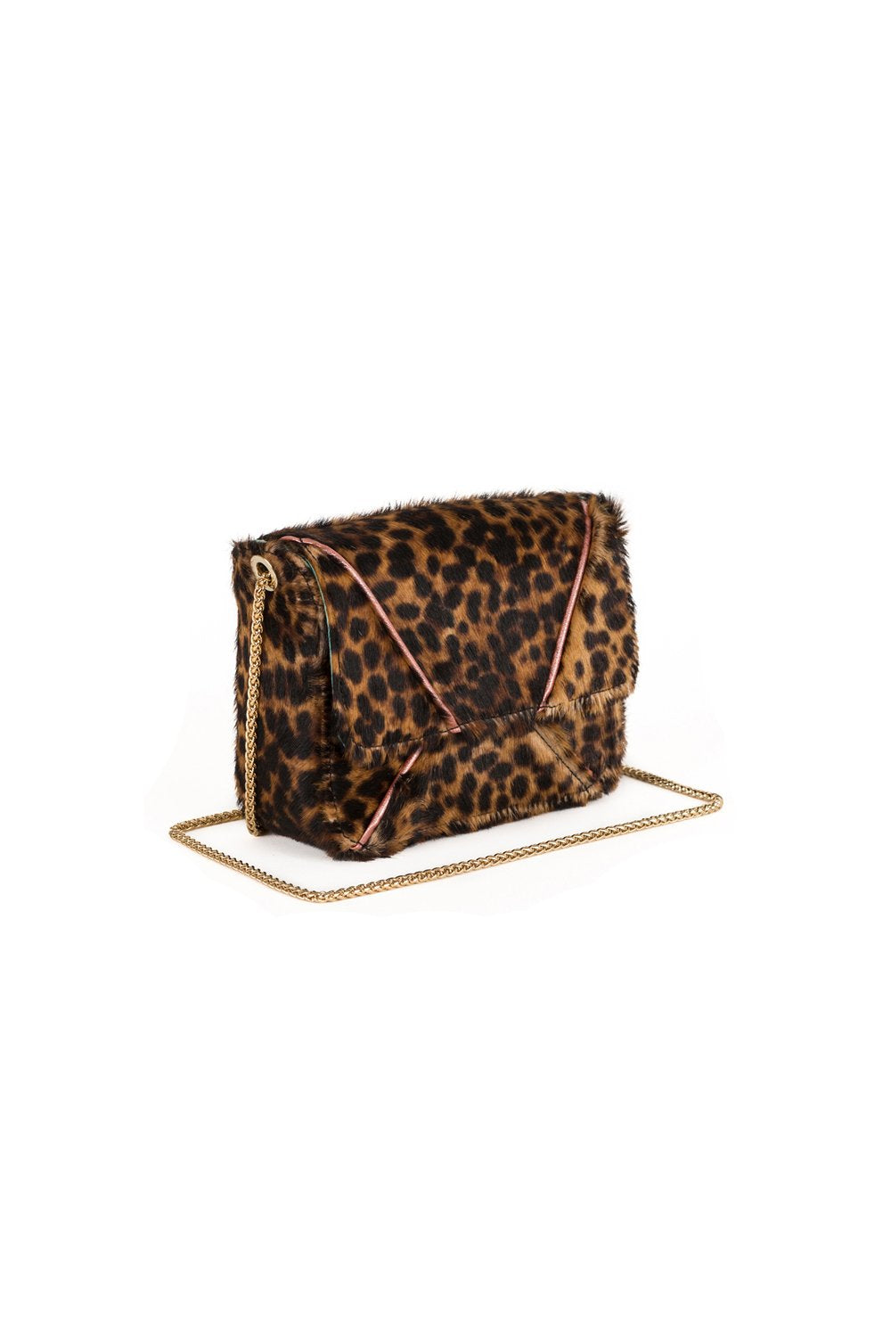 Vivian handbag in leopard printed leather
