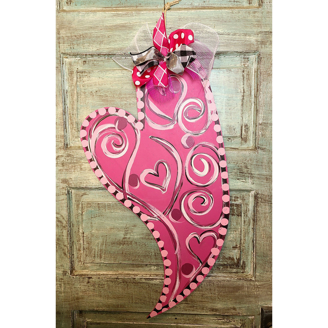 Oversized Whimsical heart