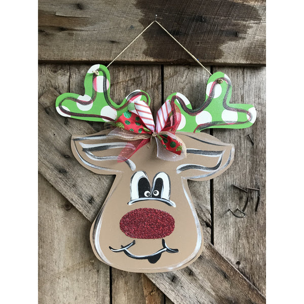 Rudolph with Glitter Nose