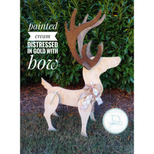 Load image into Gallery viewer, Cream distressed Yard Buck