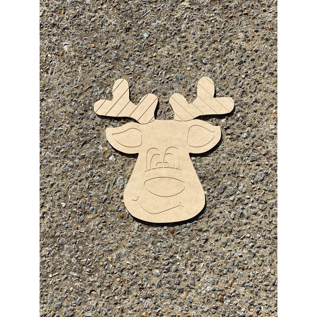 Rudolph Take & Make SHAPE ONLY