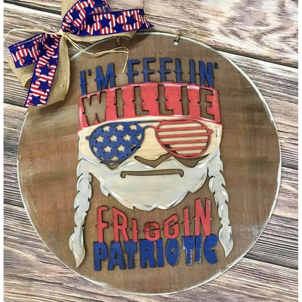 Willie patriotic