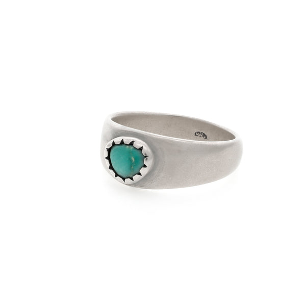 Bague turquoise argent TAIMA