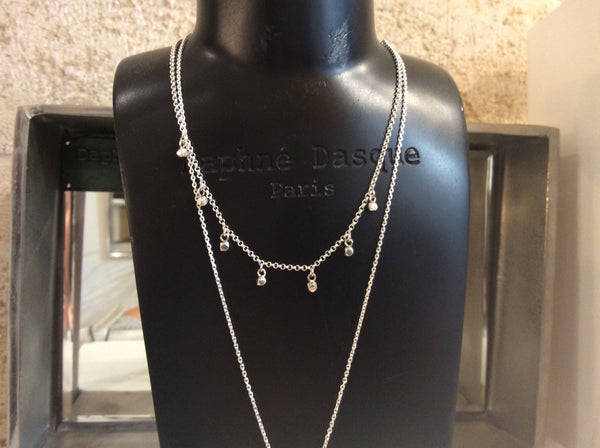 Collier Argent 925 shiny CODN39