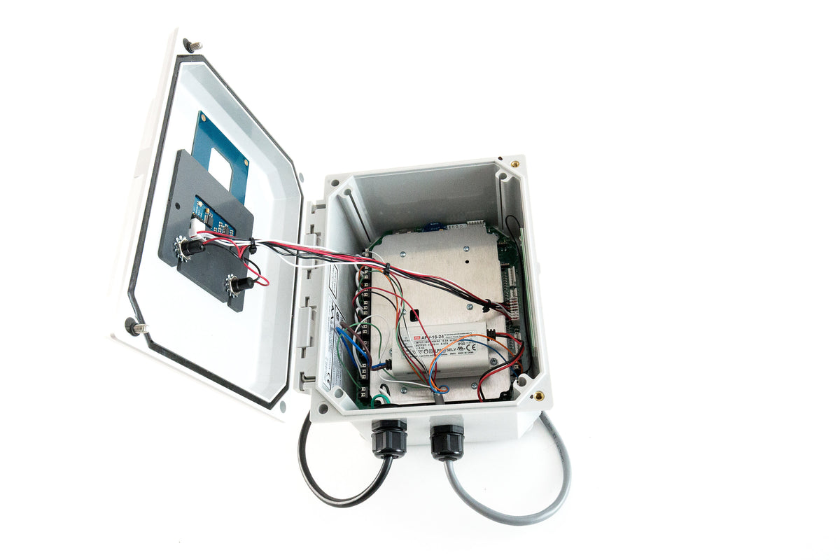 SmartTrash Monitor with Access Control (48 Users)