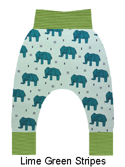 Origami Elephants in Green