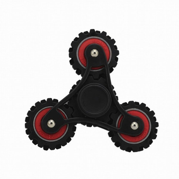 Red Gear wheel Fidget Spinner
