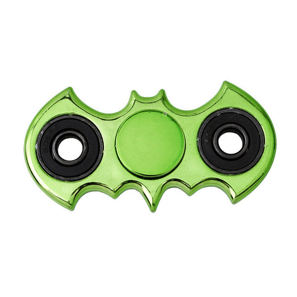 Green Crome metal batman fidget spinner marvel dc