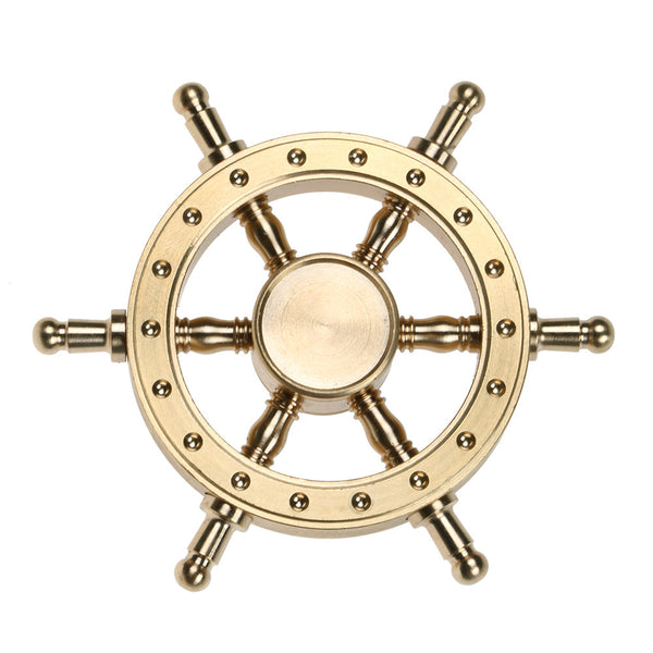 Captain Rudder Ship Fidget Spinner Pirate