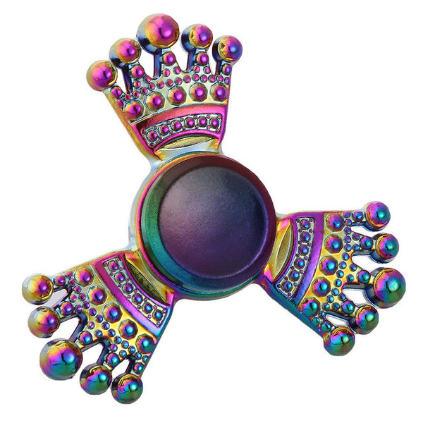 Rainbow Crown Princess King Fidget Spinner