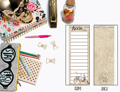Accio Notes | Laminated Inner Dashboard