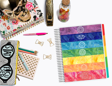 Align Your Chakra | Planner Cover, Ring-bound Dashboard, & TN Double-Dashboard