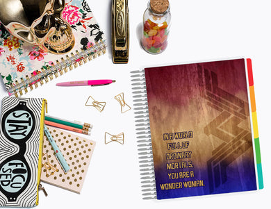 Amazon Woman | Planner Cover, Ring-bound Dashboard, & TN Double-Dashboard