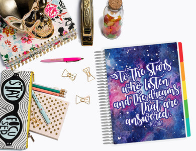 ACOMAF To the Stars who Listen | Planner Cover, Ring-bound Dashboard, & TN Double-Dashboard