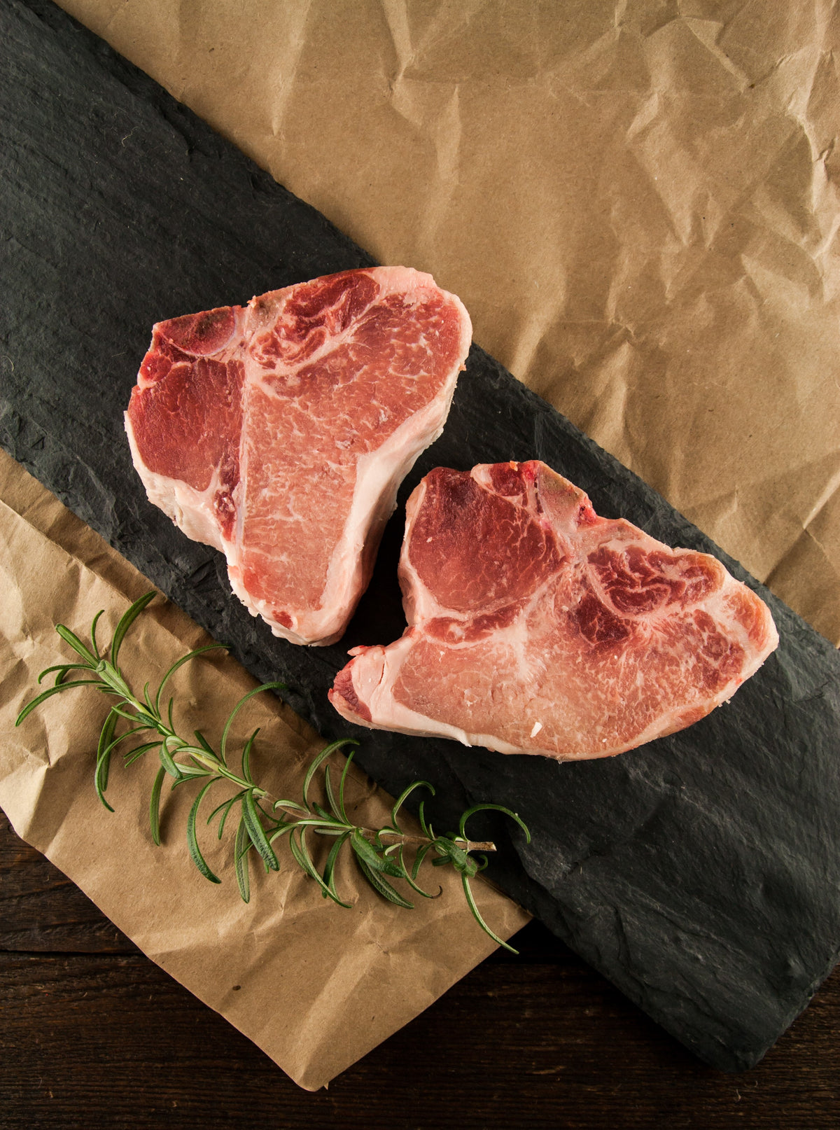 Fantasma's Berkshire Porterhouse Pork Chops (2 per pack)