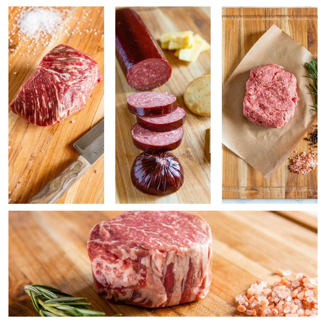 Steak Dinner for 2 Corporate Gift Bundle