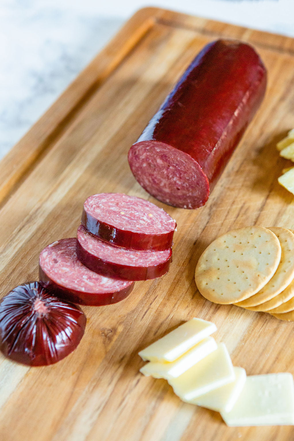 Wagyu Beef Summer Sausage Corporate Gift KC Cattle Company
