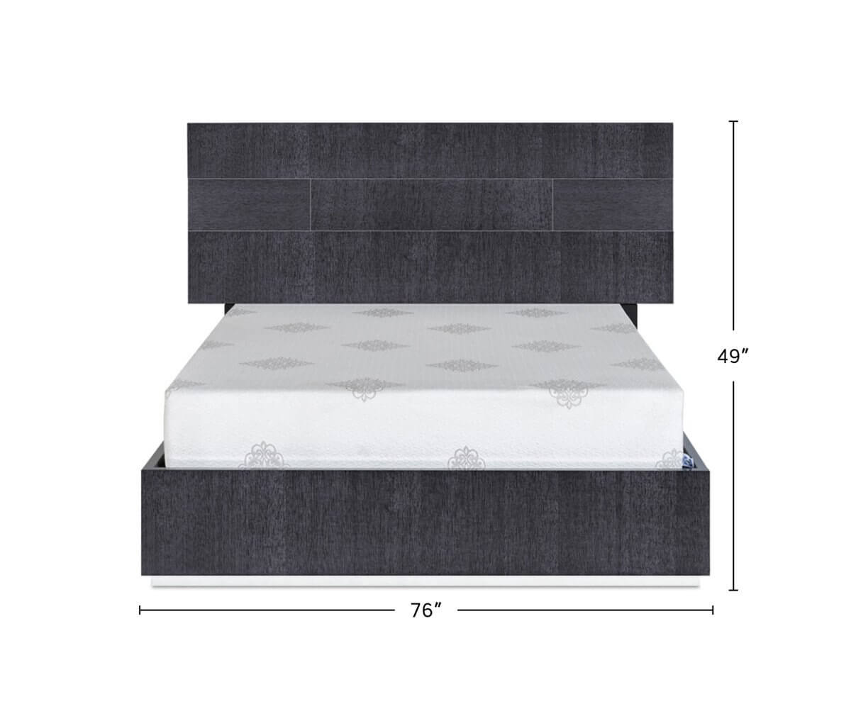 Mondiana Bed dimensions