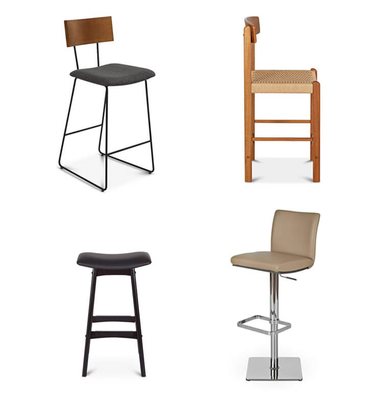 Pleasant Counter Bar Stools Dania Furniture Ncnpc Chair Design For Home Ncnpcorg