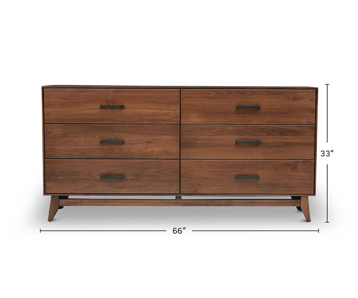 Kelby Double Dresser dimensions
