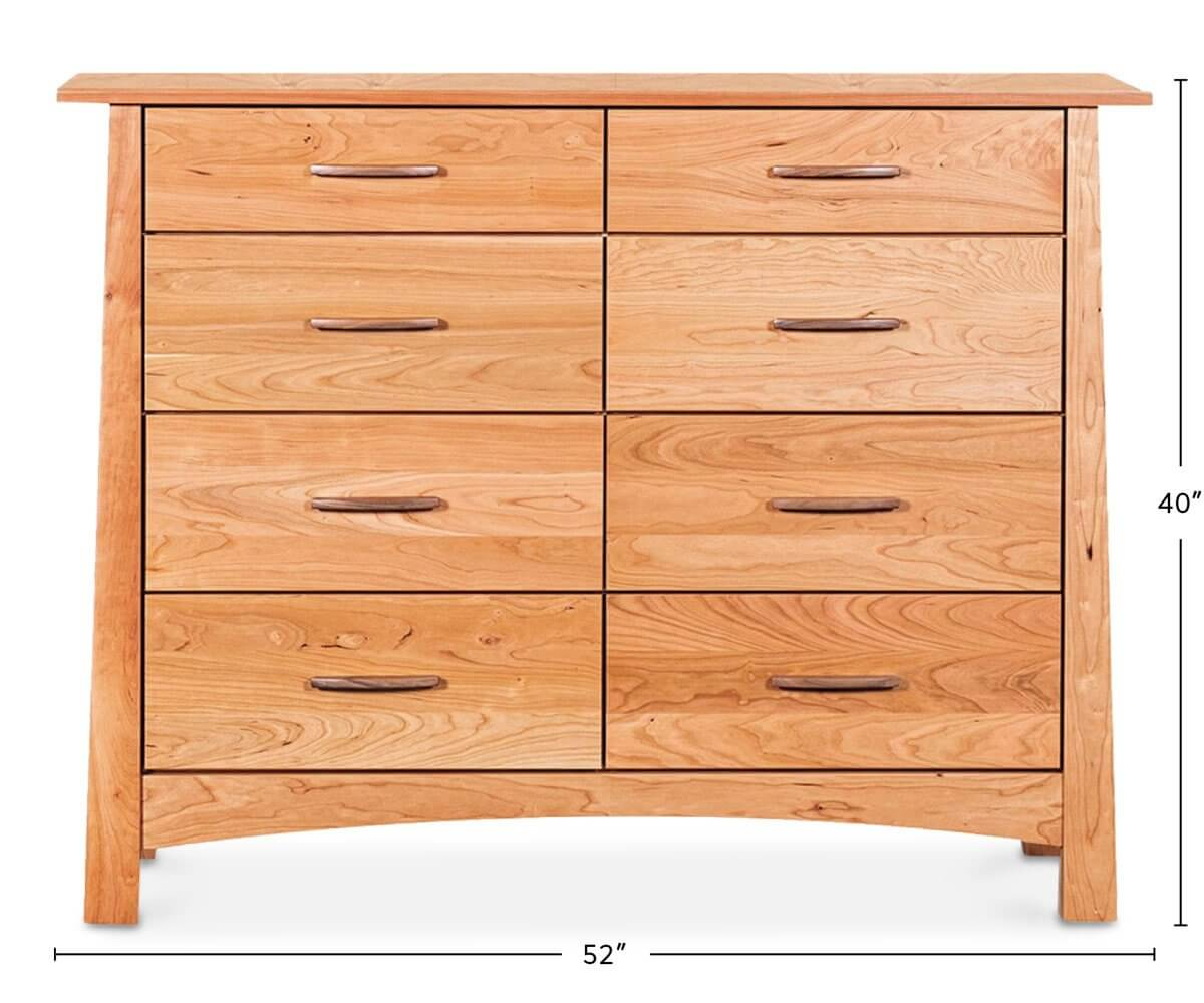 Reflections 8 Drawer Dresser dimensions