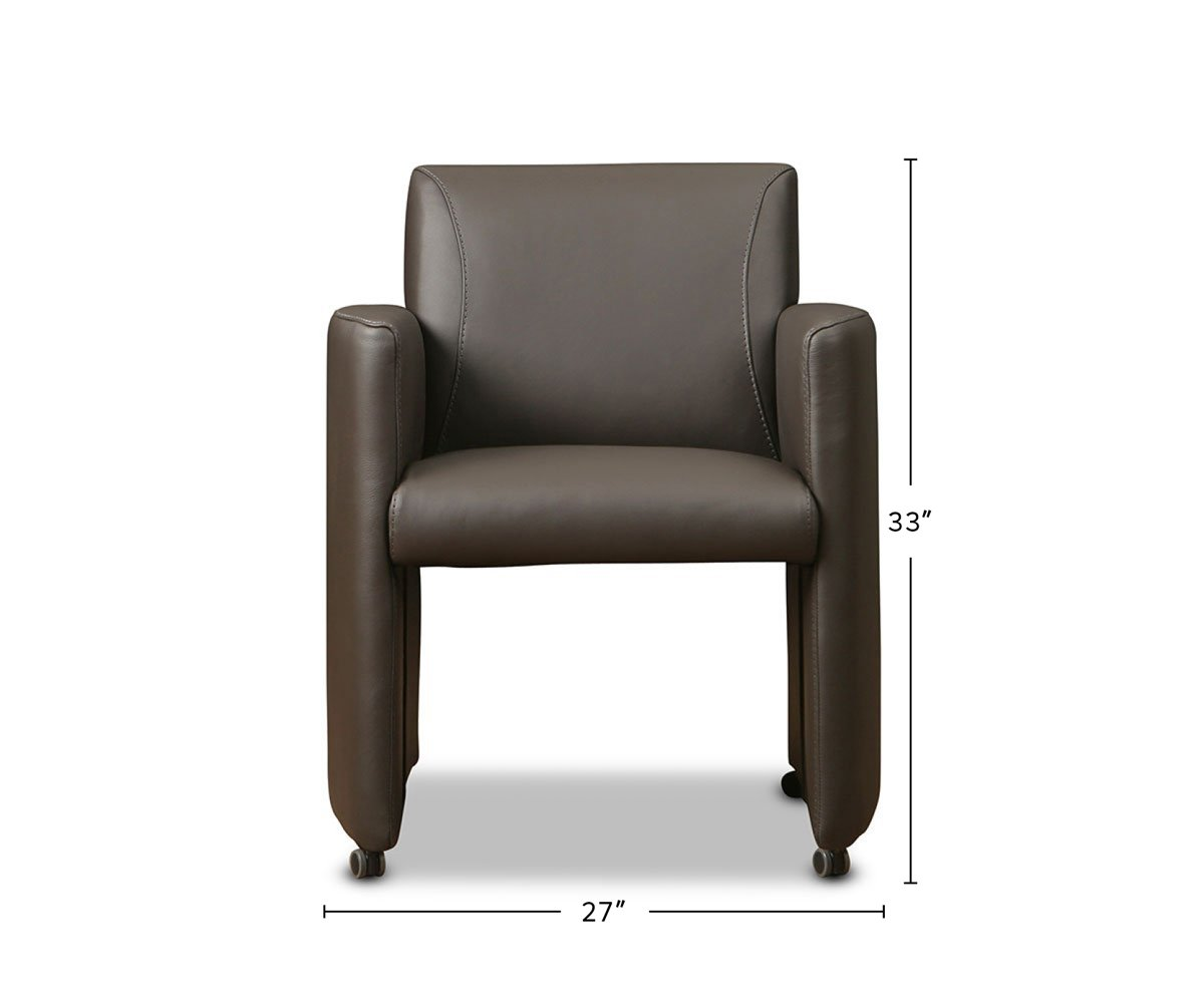 Stavern Caster Chair dimensions