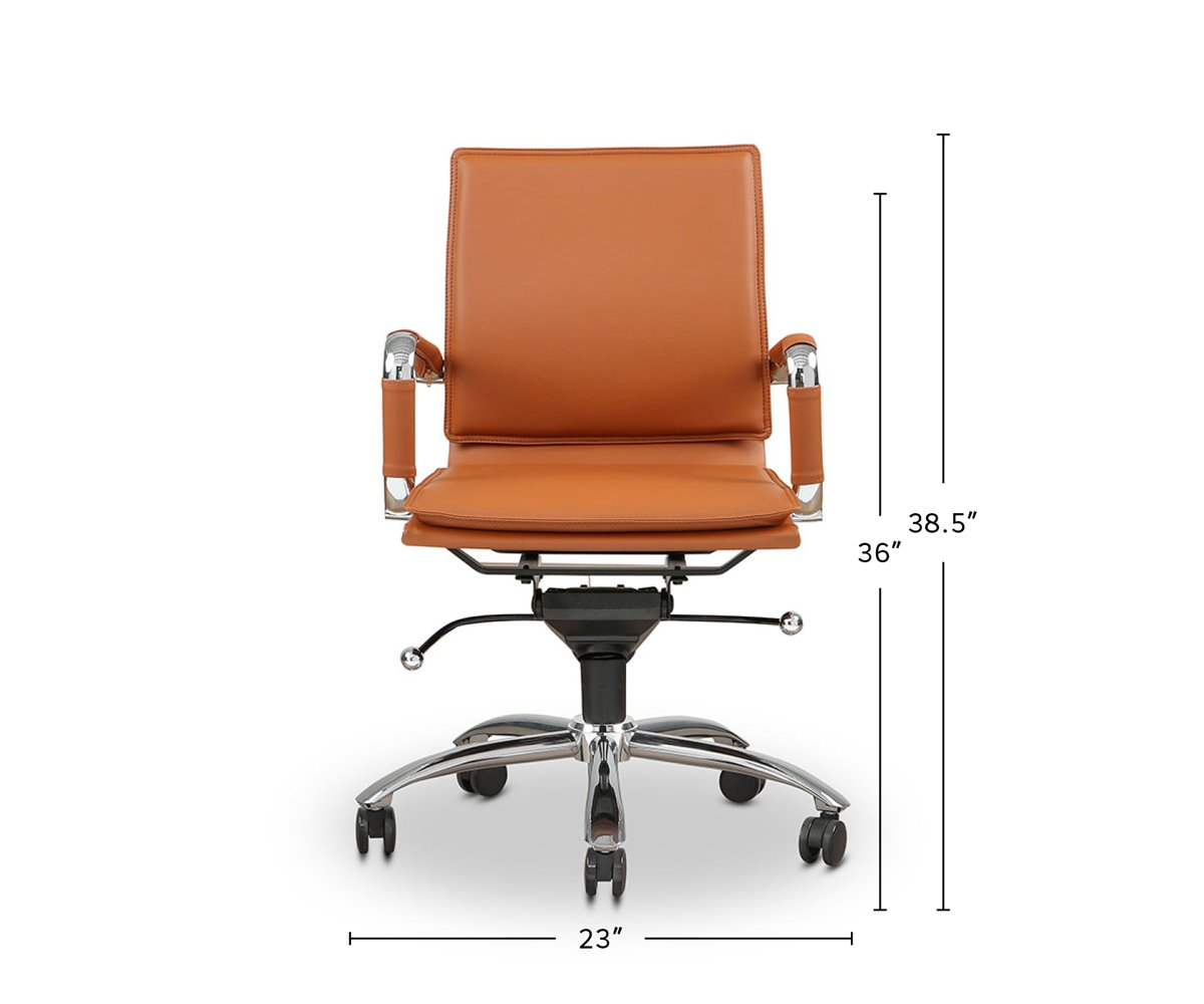 Brock Low Back Office Chair dimensions