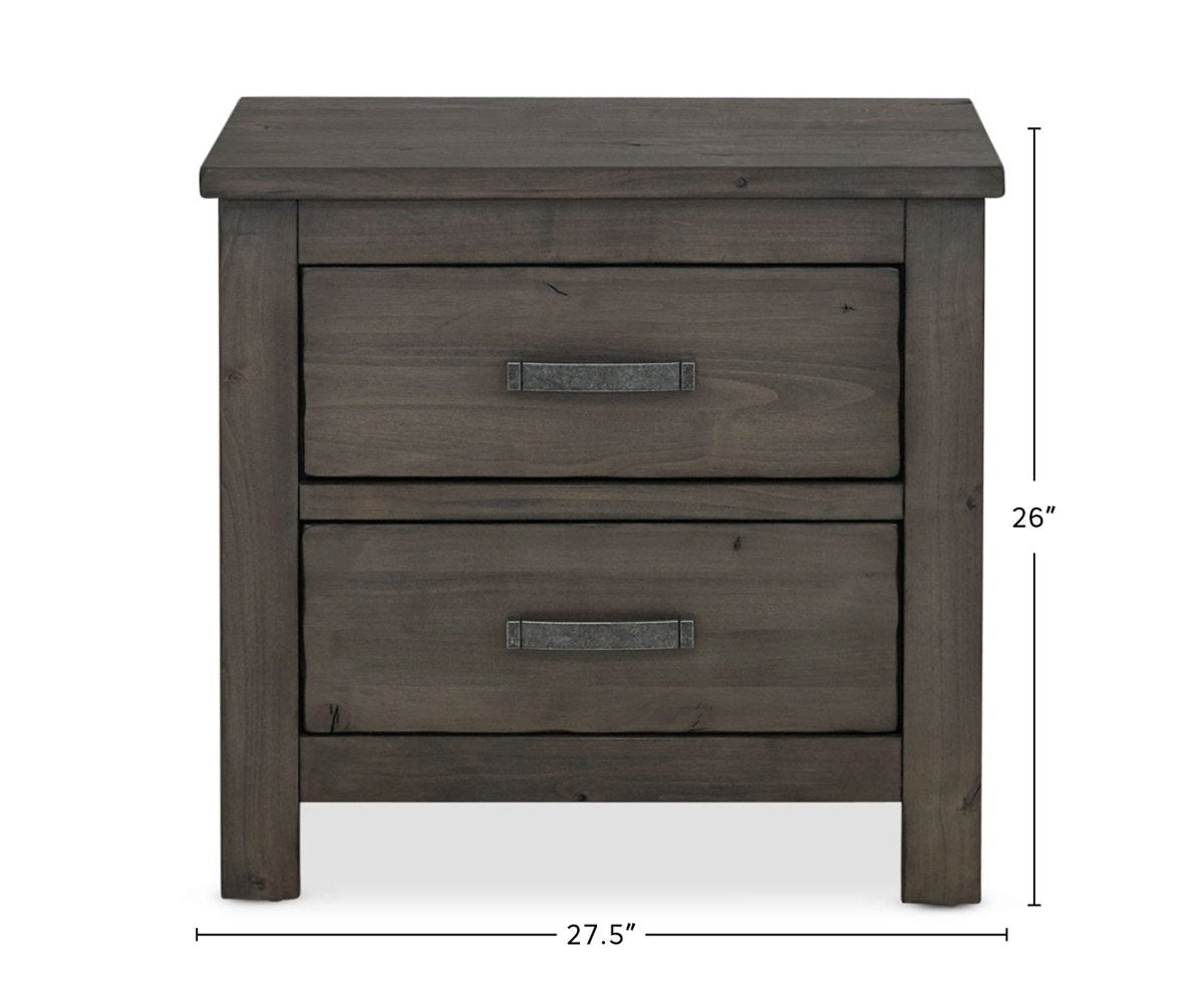 Carter Nightstand dimensions