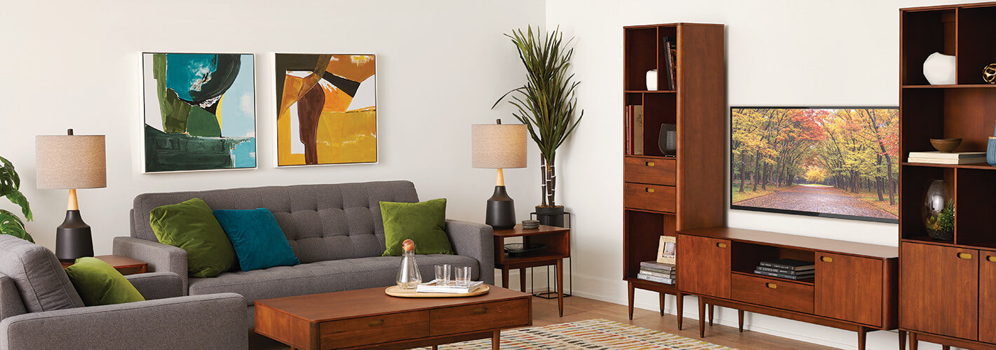 Living Room Bookcases – Dania Furniture
