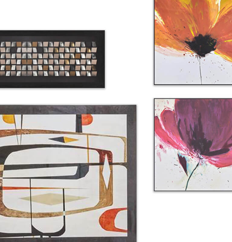Modern Art Wall Art Dania Furniture