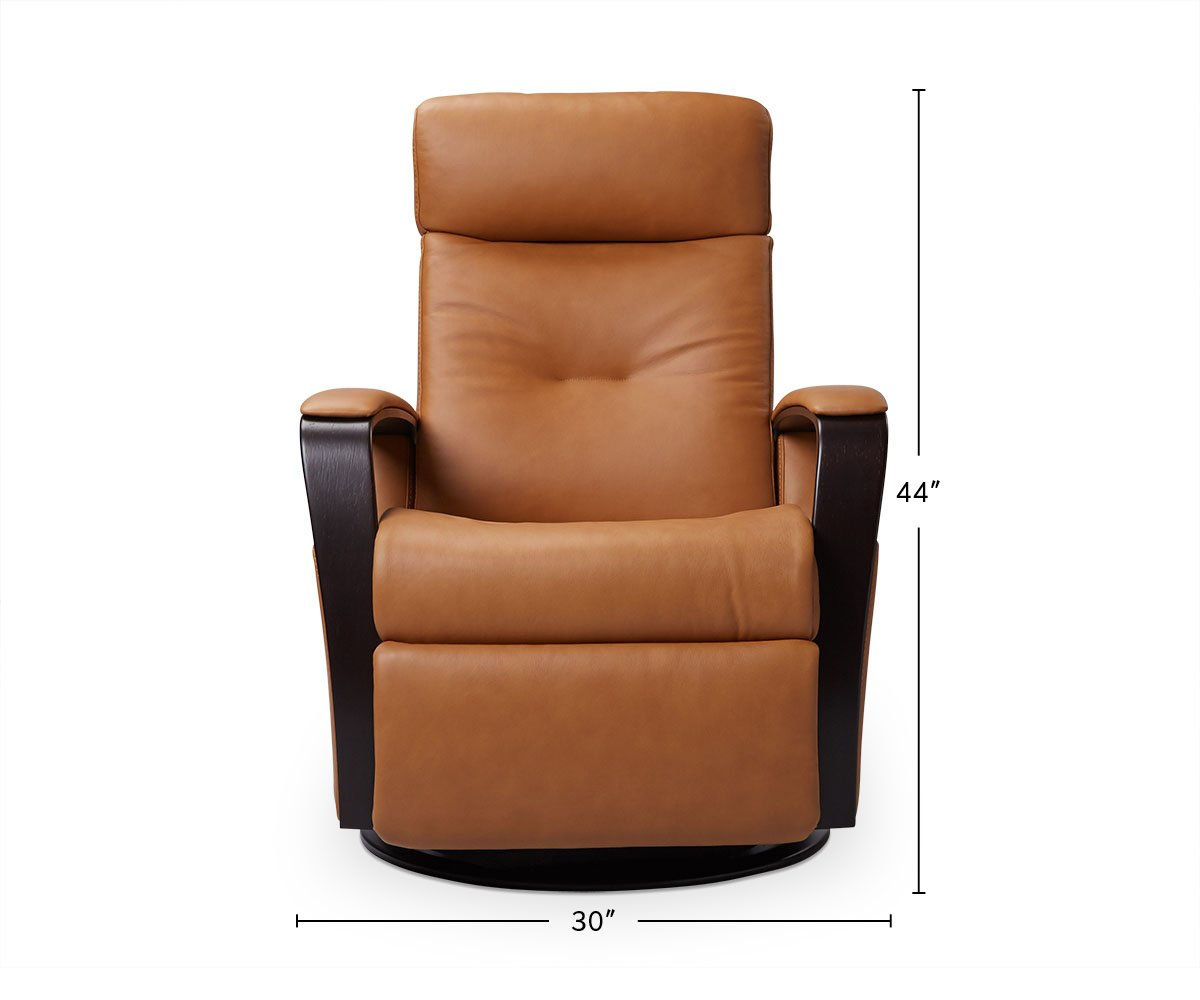Namsos Leather Power Recliner dimensions