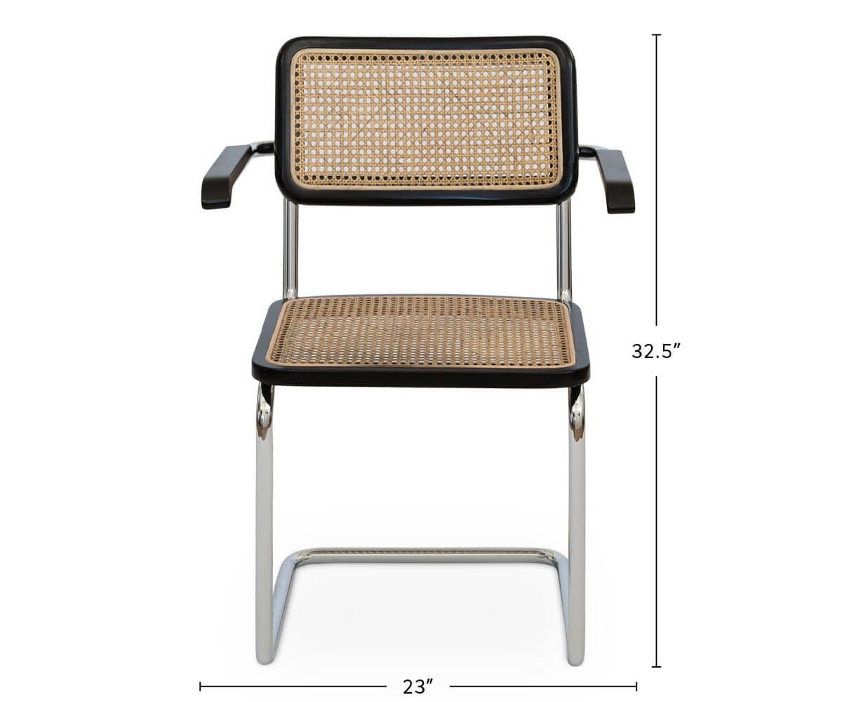 Bendt Dining Armchair dimensions