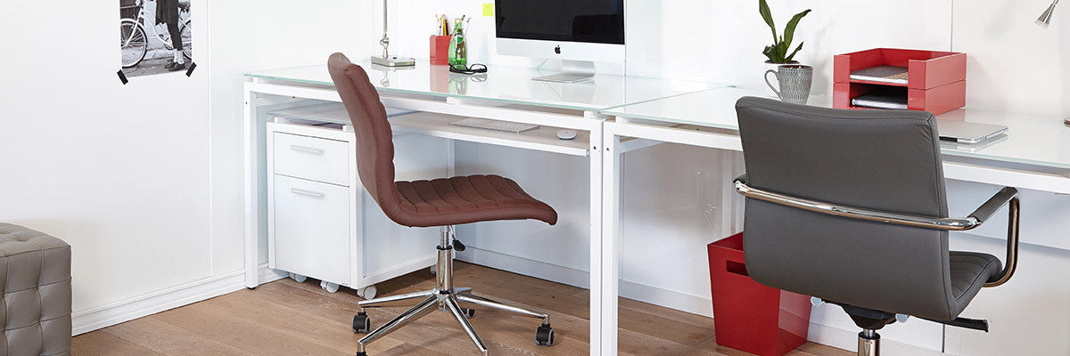 Contemporary minimalist office seating