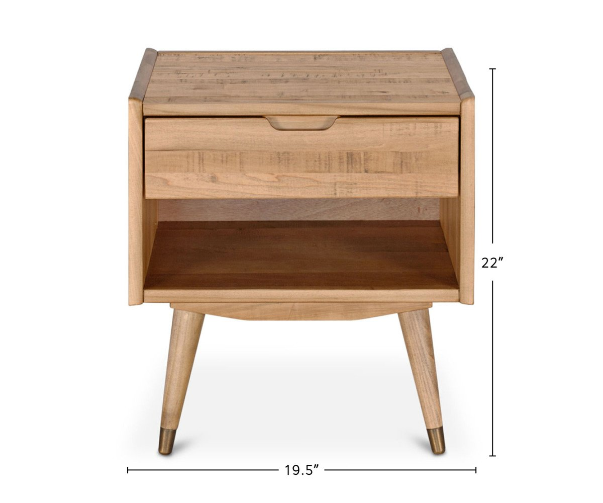 Bolig Nightstand dimensions