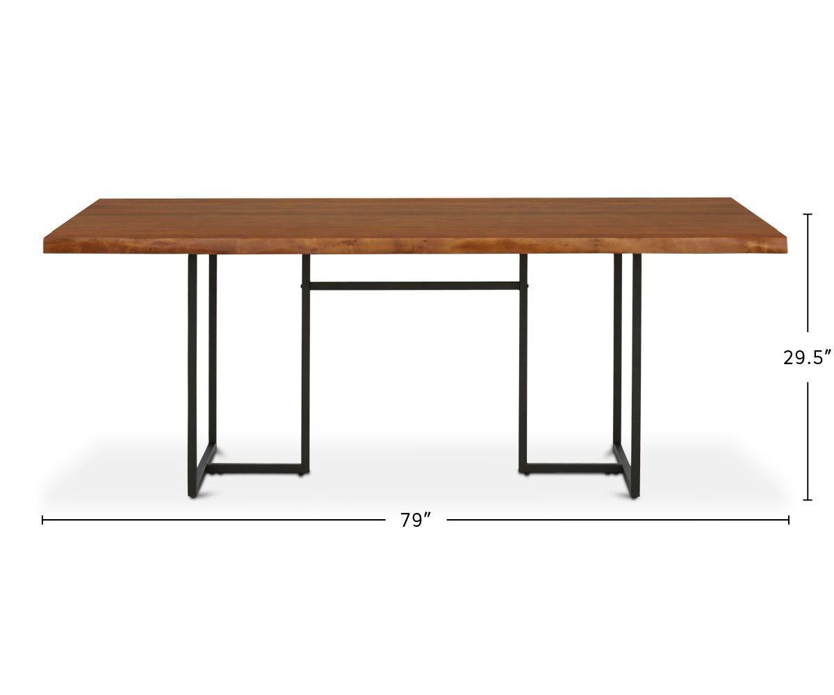 Hasse Dining Table dimensions