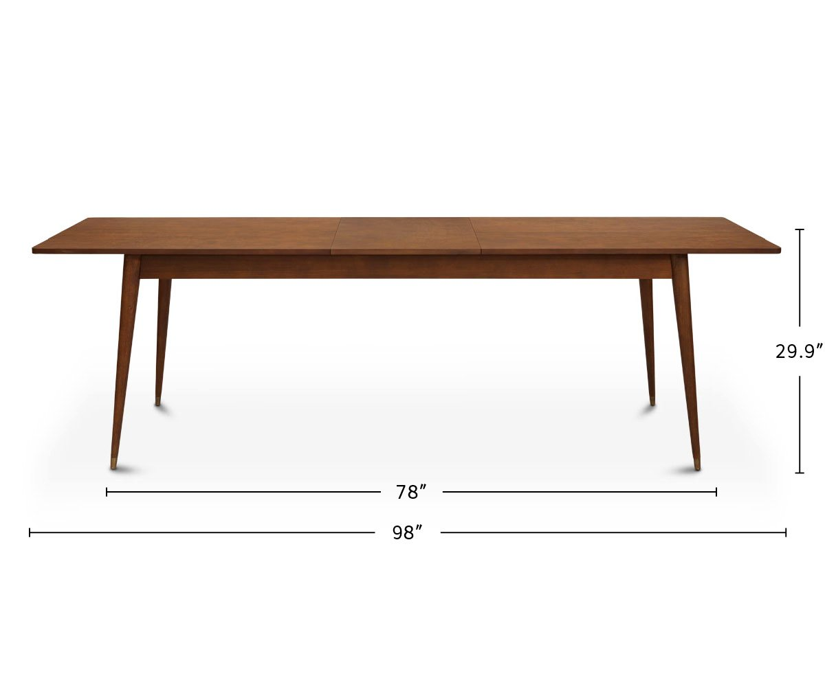 Holfred Extension Dining Table dimensions