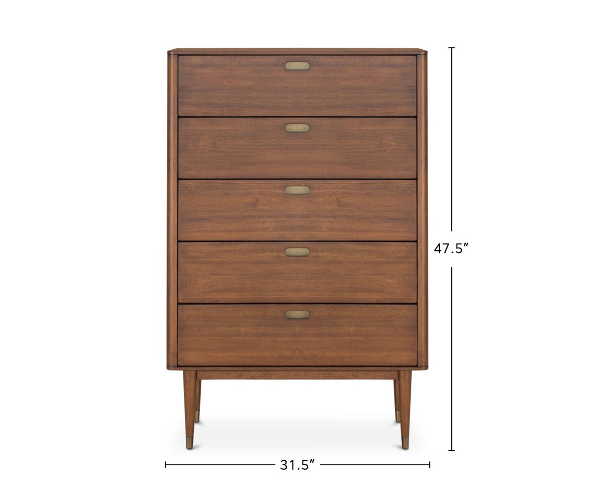 Holfred High Chest dimensions