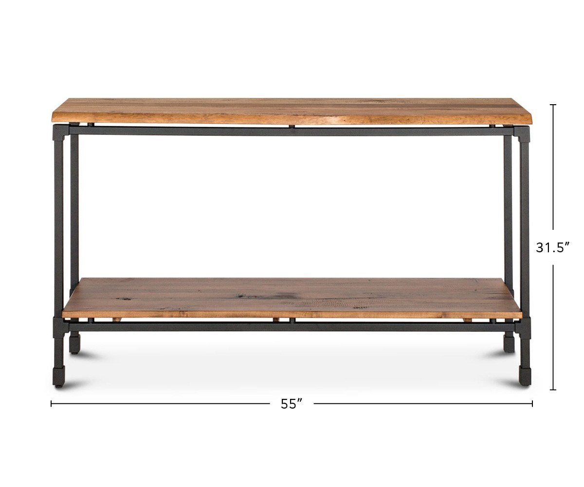 Karsten Console Table dimensions