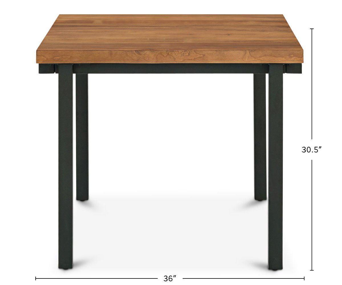 Karsten Square Dining Table dimensions