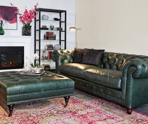 Pierce Sofa - Green