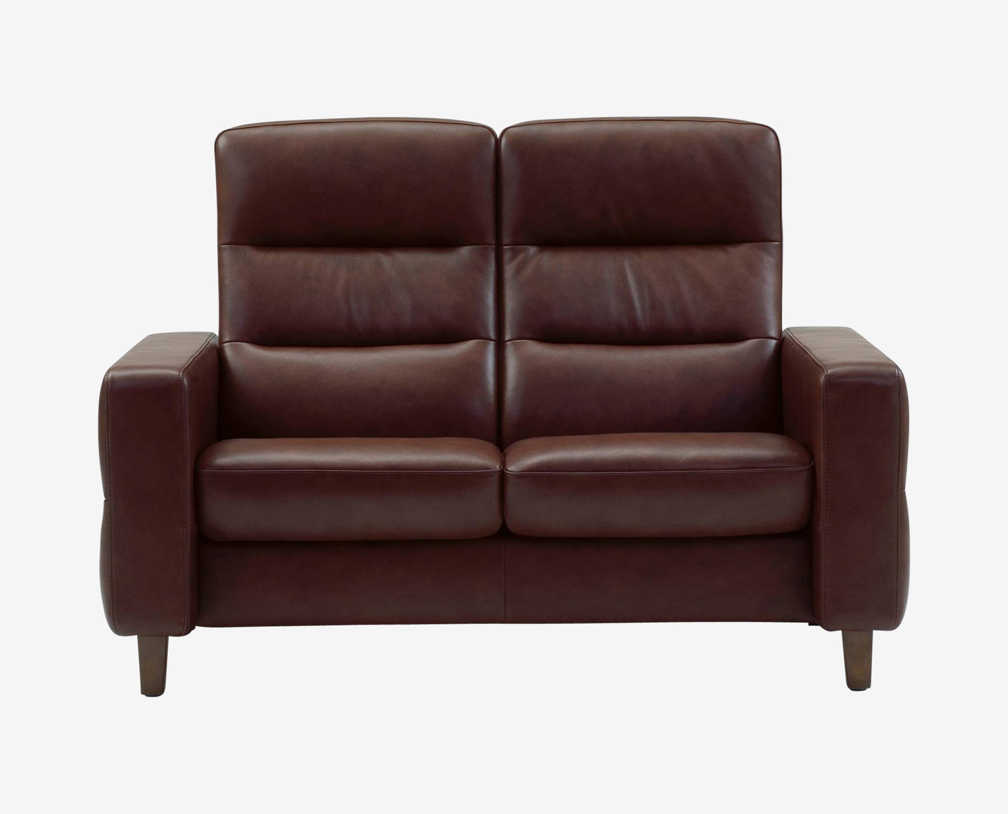 Stressless Wave High Back Loveseat High Back Loveseat E64