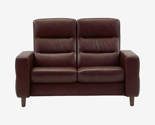 Stressless® Wave High Back Loveseat