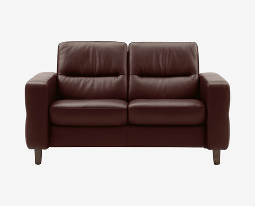 Stressless® Wave Low Back Loveseat